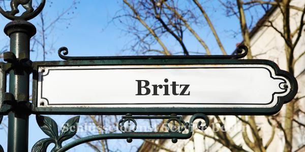 Ortseingangsschild Britz