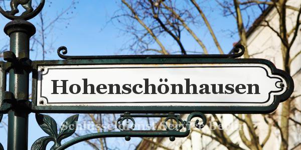 Ortseingangsschild Hohenschönhausen