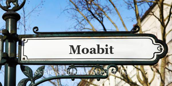Ortseingangsschild Moabit
