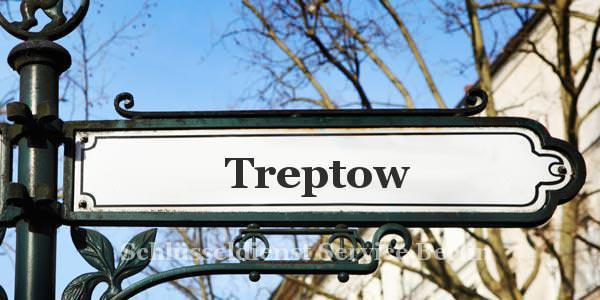 Ortseingangsschild Treptow